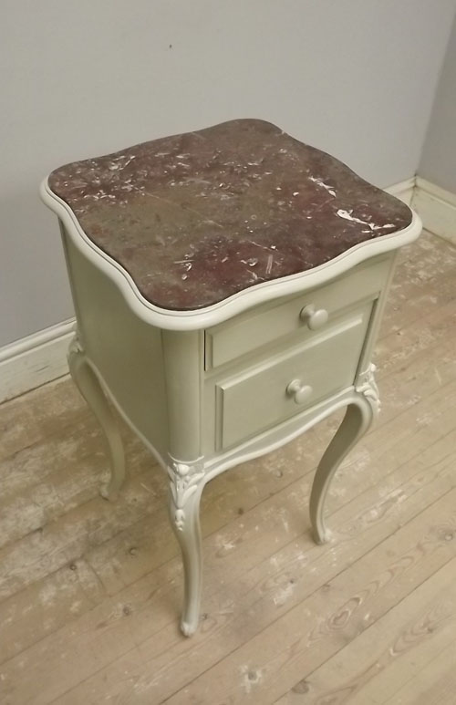 Old Bedside Table: A2734b Wonderful Antique French Bedside Table