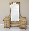 vintage french dressing mirror gilded