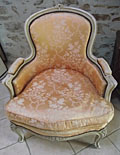 wonderful vintage french armchair