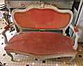 wonderful old French sofa / canape