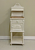 French antique Louis style bedside table