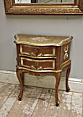 Giltwood Bedside table
