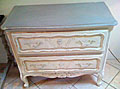 old french decorative chest of drawers