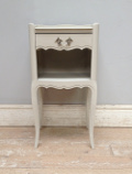 vintage french bedside table