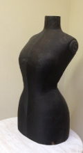 french antique wasp waisted mannequin