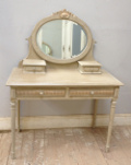 french antique dressing table Louis XVI style