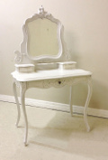 french antique Louis XV style dressing table