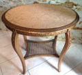 old french gueridon lamp table