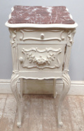 fremch antique bedside table