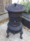french amtique rosier stove