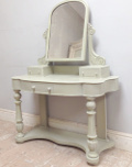 painted victorian dressing table