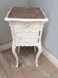 french antique bedside table
