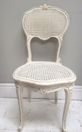 French antique cane chair