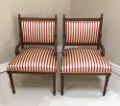 pair of Louis XVI bedroom chairs