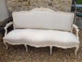 french antique sofa