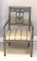 french antique directoire armchair