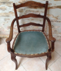 old french desk chair