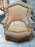 antqiue french louis armchair