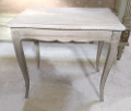 old french limed oak side table