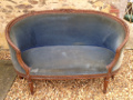 french antique tub sofa
