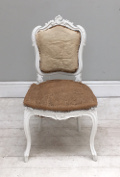 french antique rococo style bedroom chair