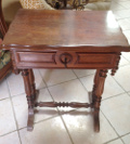 old French sewing workbox
