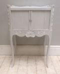 old french bedside table