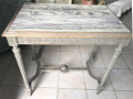 french antique console table
