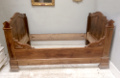 french antique sleigh bed