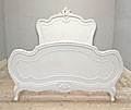 french antique rococo style bed