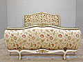 wonderful vintage french demi-corbeille bed