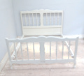 vintage french Louis XV style bed