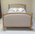 french antique kingsize bed