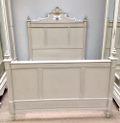 french antique Henri Ii style bed