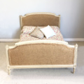 old french bed for upholstery