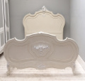 french antique rococo bed