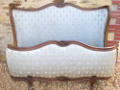 old french capitone full corbeille large double bed
