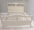 wonderful old french provencal style double bed