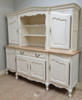vintage french buffet 2 piece