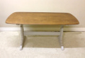 vintage refectory dining table
