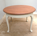 old extending dining table Waring & Gillow