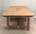 FRENCH ANTIQUE REFECTORY DINING TABLE