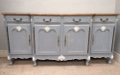 old french 4 door sideboard
