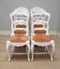 old french set of 6 chairs