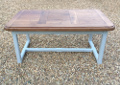 old french rustic oak dining table