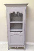old French Provencal Display Cupboard