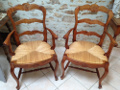 old pair of Louis XV Carver chairs