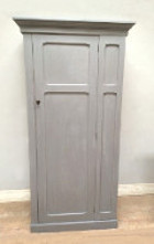 old painted grey cupboard
