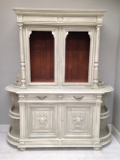 wonderful large french antique buffet / dresser