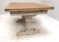 french antique large dining table